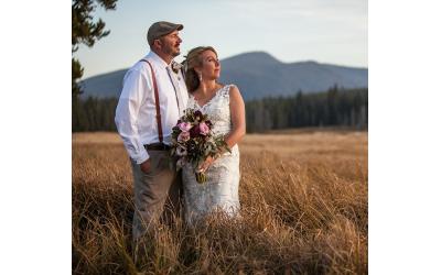 McCall Wedding Photographer | Burgdorf Hot Springs Wedding | Kerry + Jeff