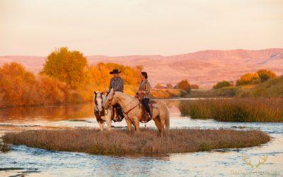Boise Wedding and Portrait Photographer | Lazy Bear Ranch Engagement Session | Kortney + Daniel