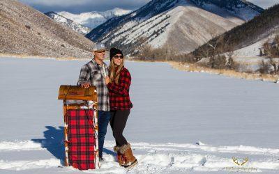 Sun Valley Wedding Photographer | Todd Nichols Photography | Trail Creek Cabin | Matt + Stine